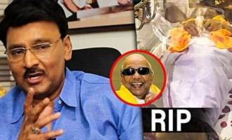 What we have to do for Kalaignar is. . .: Bhagyaraj Interview