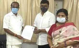 K Bhagyaraj meet Tamil Nadu minister Kadambur Raju today