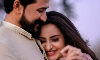 Popular heroine Bhama gets engaged