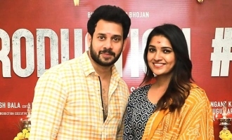 Actor Bharath to romance Vani Bhojan in his next film! - Shooting begins