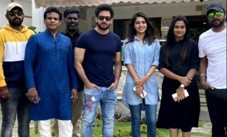 It's a wrap-up for the first schedule of Bharath and Vani Bhojan's film!