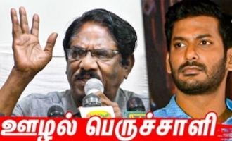 Vishal used his education for corruption - Bharathiraja