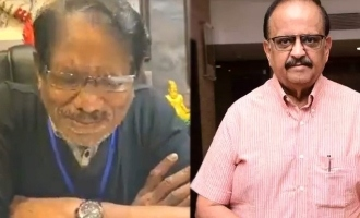 Bharathiraja's teary eyed video, praying for SPB's recovery!