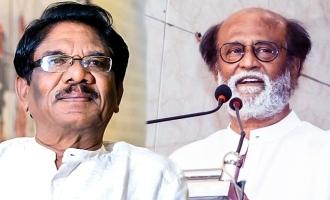 """Rajnikanth can't be allowed to rule Tamil Nadu!"" - Bharathiraja!"
