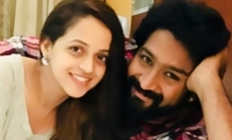 Bhavana celebrates nine years of love