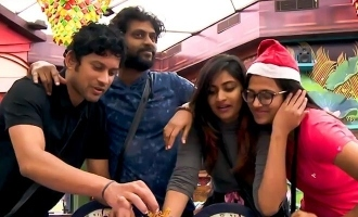 Christmas festival mood bigg Boss 4 housemates celebration