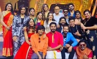 Bigg Boss 4 contestant Kondattam show on Vijay TV shooting