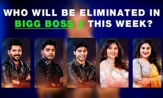 Biggboss tamil season 3 who eliminated this week