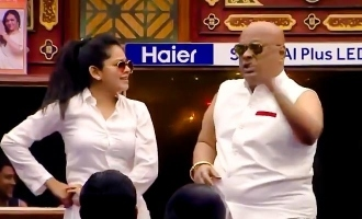 Suresh Chakravarthy and Anitha Sampath dance together to stun Bigg Boss 4 housemates!