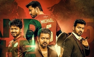 Famous actor watches Vijay's Bigil with family
