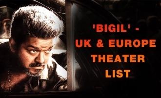 'Bigil' - UK & Europe Theater List