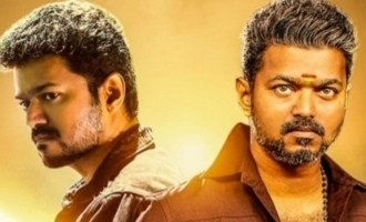 Thalapathy Vijay's 'Bigil' Telugu version first look and title