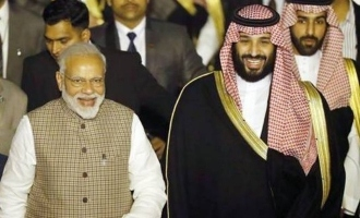 Modi breaks protocol for Saudi Prince!