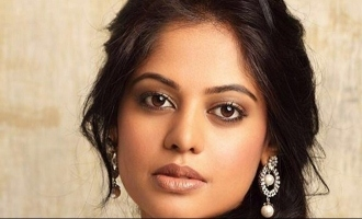 Bindu Madhavi gets back to work during lockdown