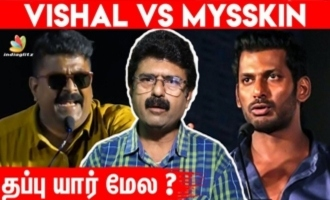 Vishal -Mysskin fight is due to ego - Journalist Bismi red hot interview