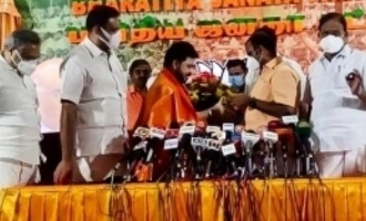 Busy young Kollywood producer joins BJP
