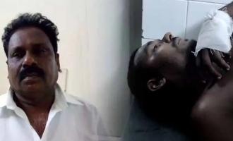mahalingam mayiladuthurai bjp head son attacked person who complained