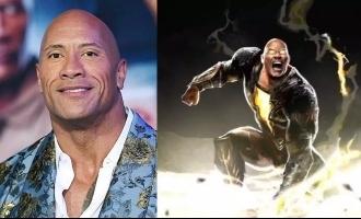 Dwayne Johnson's 'Black Adam' teaser arrives with warning to change DC Universe