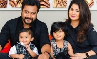 Bobby Simha and Reshmi Menon's son Arjun's first birthday celebration photos