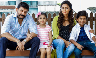 What's pending for Arvind Swamy's 'Baskar Oru Rascal'?