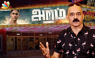 Aramm Movie Review : Kashayam with Bosskey