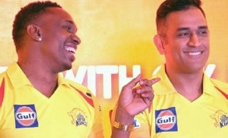 Dwayne Bravo Thala Dhoni song video Chennai Super Kings
