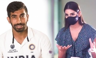 [VIDEO] Jasprit Bumrah interviewed by wife Sanjana before WTC final; Reveals best day of his life