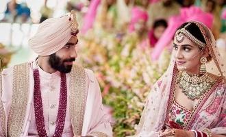 Breaking: Jasprit Bumrah gets married to Sanjana Ganesan, shares pictures