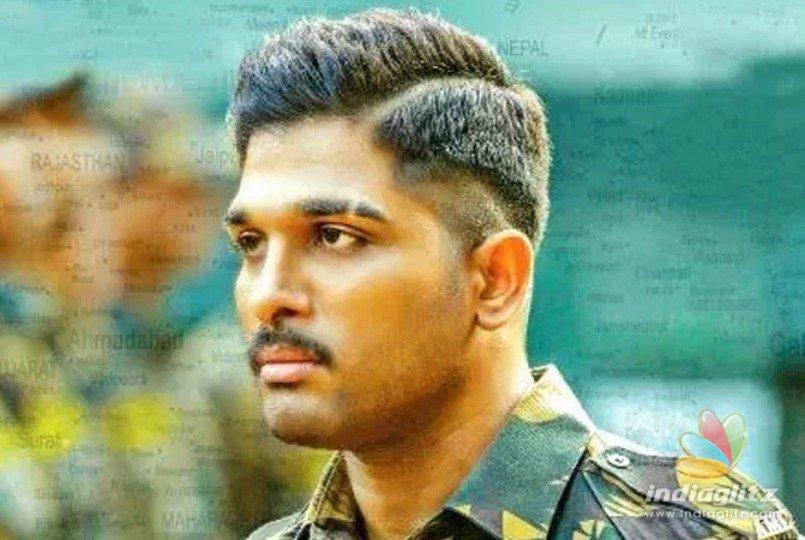 Allu Arjun's patriotic Tamil entry - Tamil News - IndiaGlitz com