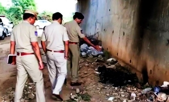 After Hyderabad doctor, another woman's burnt body found!