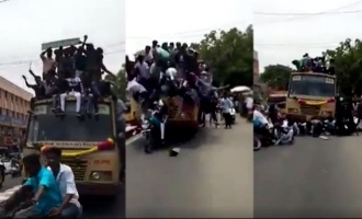 24 Chennai College Students Held for 'Celebrating' Bus Day