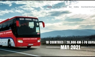 World's longest bus route from  New Delhi to London to operate soon