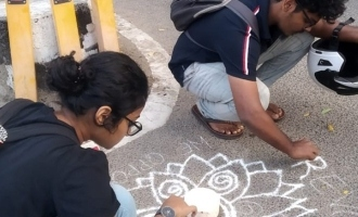 Six female students arrested in Chennai for controversial rangoli drawings