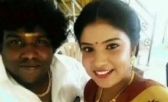 Actress Sabitha Rai posts video regarding marriage with Yogi Babu