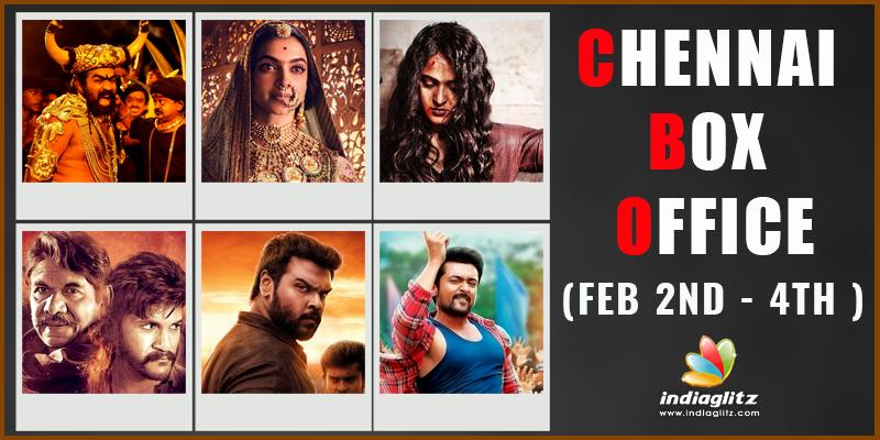 Chennai Box Office (Feb 2nd - 4th )