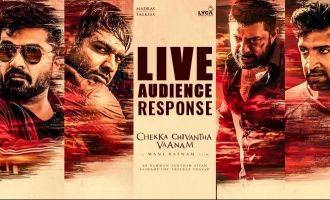 'Chekka Chivantha Vaanam' Live Audience Response
