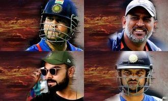 Amazing fan cut! Sachin, Dhoni and Kohli in 'Chekka Chivantha Vaanam'