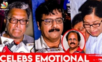 Vivek, Kovai Sarala & Nassar Pays Last Respect to Crazy Mohan