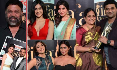 Celebs @ 'IIFA Utsavam' Awards 2017 - Day 2