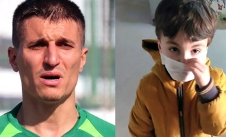 Football player murders 5-year-old son admitted to hospital over suspected coronavirus infection