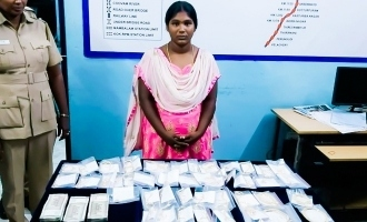 Chennai Police arrested a young lady for theft case