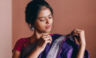 'Goli Soda' girl Chandini Bhaskar in saree and western dress photos go viral
