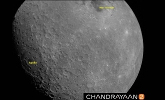 First picture of Moon captured by Chandrayaan 2 revealed