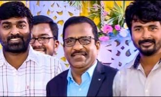 Sivakarthikeyan & Vijay Sethupathy attends Comedian Charlie Son Wedding