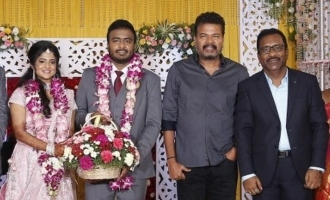 Actor Charlie Elder Son Adhithiya's Wedding Reception