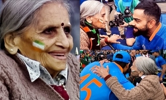 India's Special 87-Year-Old Fan is Winning Hearts Across the World