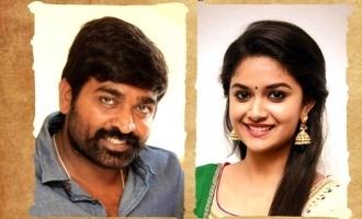 இளம் நடிகருக்காக இணைந்த விஜய்சேதுபதி-கீர்த்தி சுரேஷ்!