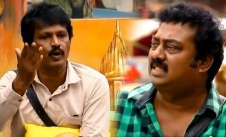 Biggboss Tamil season 3 Cheran Saravanan fight continue
