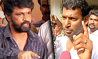 Vishal must resign from Producers' Council: Director Cheran Protest