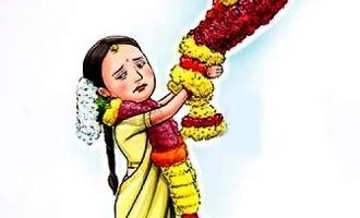 கைகால்களை கட்டிப்போட்டு நள்ளிரவில் திருமணம்: 15 வயது சிறுமிக்கு நடந்த கொடுமை
